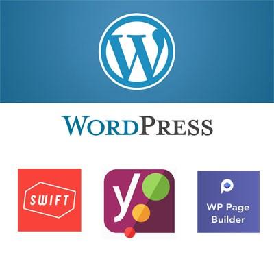 WordPress with popular plugins preloaded on UK Cloud Hosting